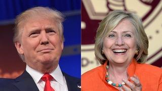 Điểm tương đồng về tình trường sóng gió của 2 ứng viên Tổng thống Mỹ