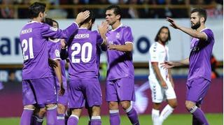 Real Madrid hủy diệt đối thủ với tỉ số 7-1