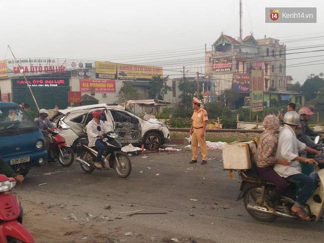 Hiện trường vụ tai nạn ngày 24.10 vừa qua