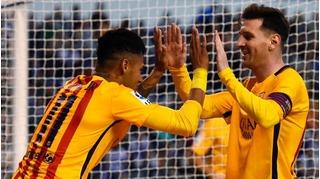Thi đấu thăng hoa, các cầu thủ Barcelona được tặng xế hộp