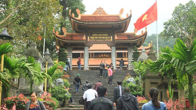 Thiền viện Trúc Lâm Yên Tử, nơi xảy ra vụ tự thiêu sống