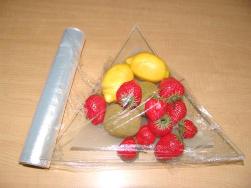 Màng bọc rất hữu dụng để bảo quản thực phẩm vệ sinh