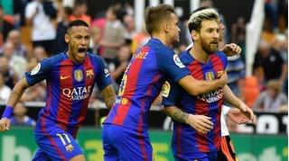 MSN im tiếng, Barcelona vất vả vượt qua Granada
