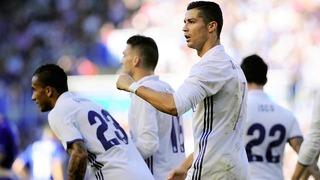 Ronaldo lập hattrick trong ngày Real thắng lớn