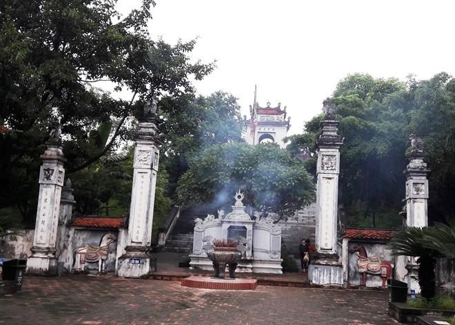 Đền Cuông - nơi vừa bị mất 7 hòm công đức