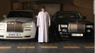 Đại gia Dubai chi 200 tỉ mua biển xe có độc chữ số 5