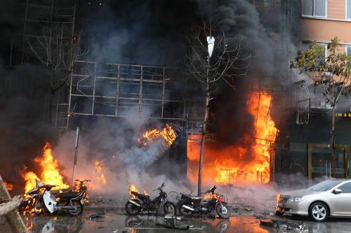 Một số hình ảnh tại hiện trường vụ cháy lớn 7