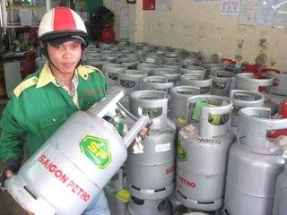 Từ hôm nay, giá Gas tăng gần 20.000 đồng/bình 12 kg