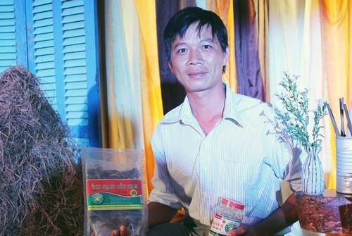 Sản phẩm ếch chế biến của chàng nông dân Nguyễn Văn Nữa