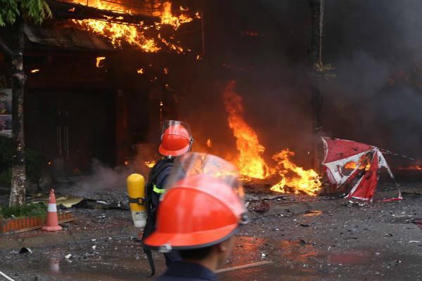 Không như 2 vụ cháy nhà ở Thanh Hóa, vụ cháy ở Trần Thái Tông đã khiến 13 người chết