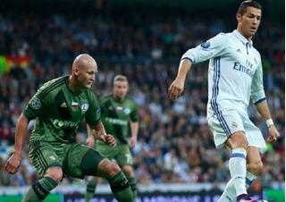 Ronaldo im tiếng, Real bị cầm chân nơi đất khách