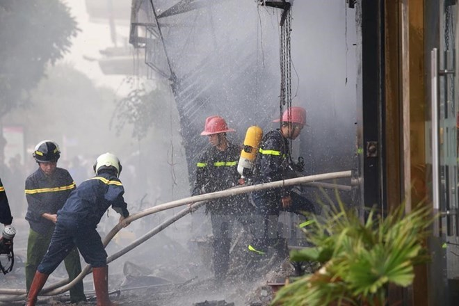 Vụ cháy mới nhất ở Hà Nội tính đến 14h ngày 2/11 không gây thiệt hại về người