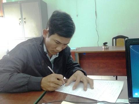 Nguyễn Văn Thái tại cơ quan điều tra