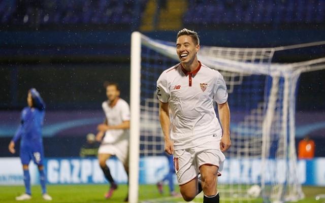 Samir Nasri trong màu áo Sevilla