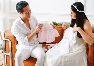 Phan Như Thảo vừa sinh con gái cho đại gia Đức An