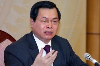 Ban Bí thư thi hành kỷ luật với nguyên Bộ trưởng Vũ Huy Hoàng