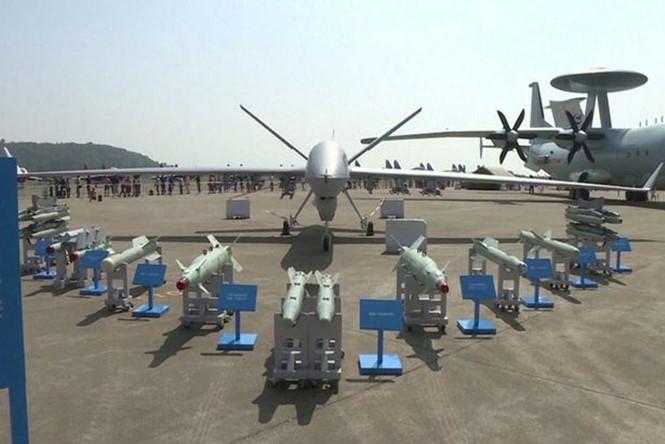 Máy bay không người lái UAV CH-5 Trung Quốc khá hiện đại