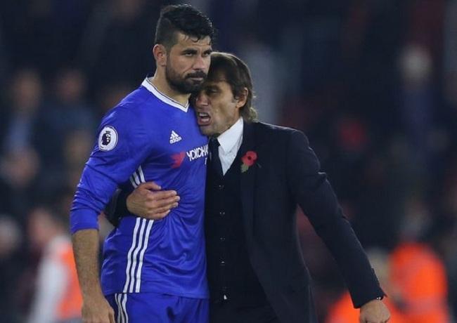 Conte tiết lộ lý do từ chối Lukaku vì đã có Costa