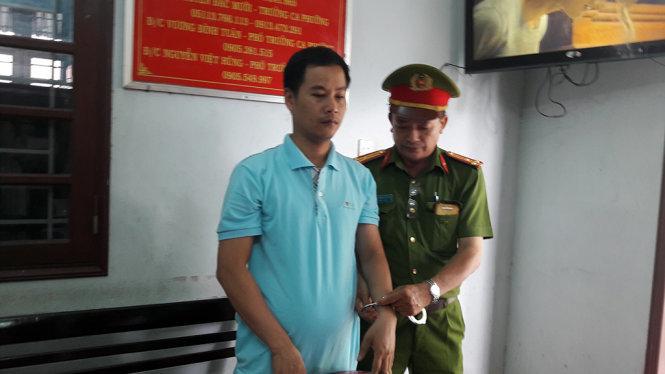 Nguyễn Ẩn, người bị bắt cùng với nguyên giám đốc ngân hàng SeaBank Đà Nẵng