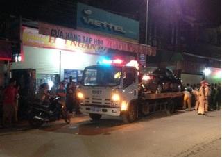 Huy động hàng trăm cảnh sát dùng xe cẩu đột kích sới bạc lớn