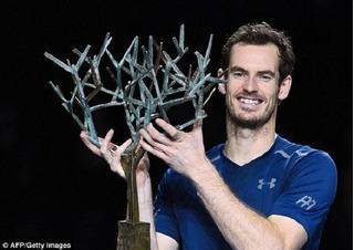 Andy Murray trên đỉnh thế giới