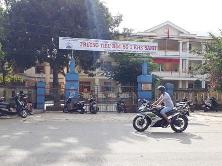 Trường Tiểu học số 1 Khe Sanh năm học 2015-2016 đã xảy ra tình trạng lạm thu, năm nay vẫn tiếp diễn.
