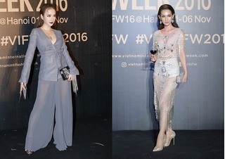Sao Việt mặc xấu thảm họa ở Vietnam International Fashion Week