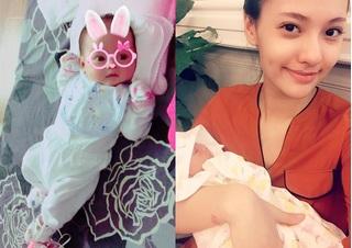Tiểu công chúa siêu cute của Hồng Quế