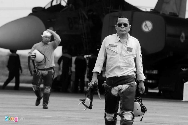 Phi công Trần Quang Khải đã hy sinh sau vụ rơi máy bay quân sự Su30MK2