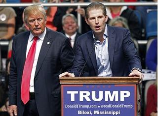 Con của Tân Tổng thống Mỹ Donald Trump có