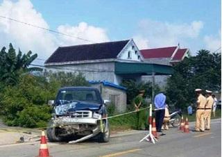 Khởi tố chủ tịch xã gây tai nạn liên hoàn làm 3 người thương vong