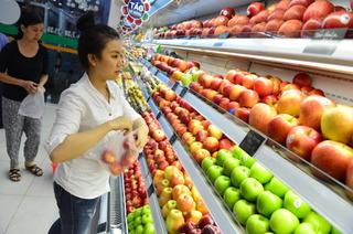Trong 10 tháng, Việt Nam nhập 120.000 tấn trái cây Trung Quốc