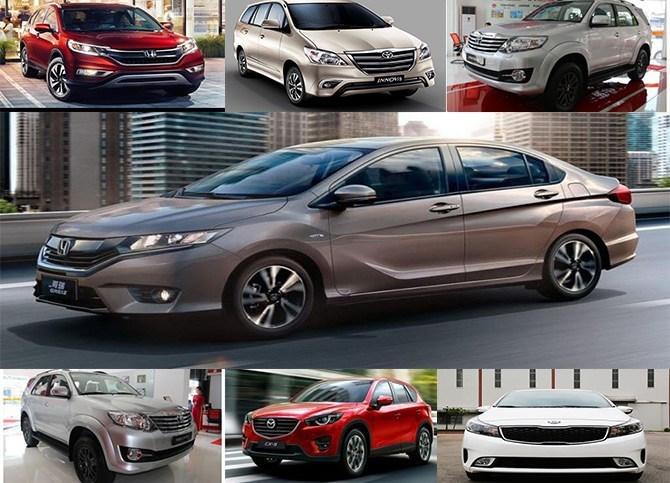 Top 10 mẫu xe bán nhiều tháng 10/2016 9