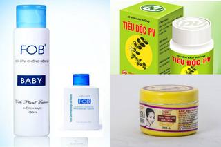 Hàng loạt mỹ phẩm, TPCN bị thu hồi trong tháng qua