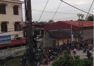 Nổ lớn ở nhà máy gạch Thái Nguyên, nhiều người thương vong