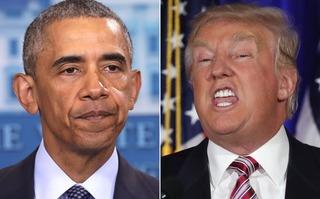 """Ông Trump - Ông Obama trước cuộc gặp """"khó xử"""" ngày 10/11 tại Nhà Trắng"""