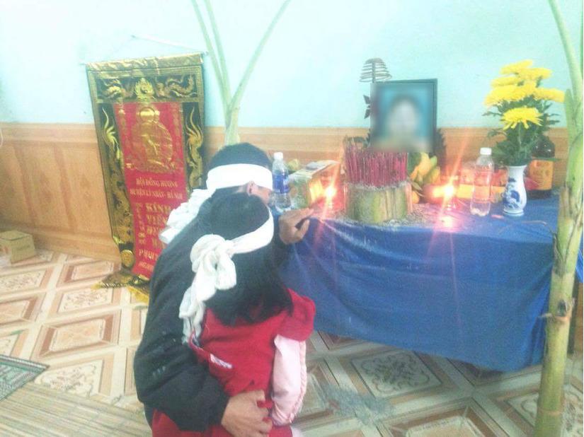 Di ảnh của sản phụ tử vong bất thường ở Yên Bái