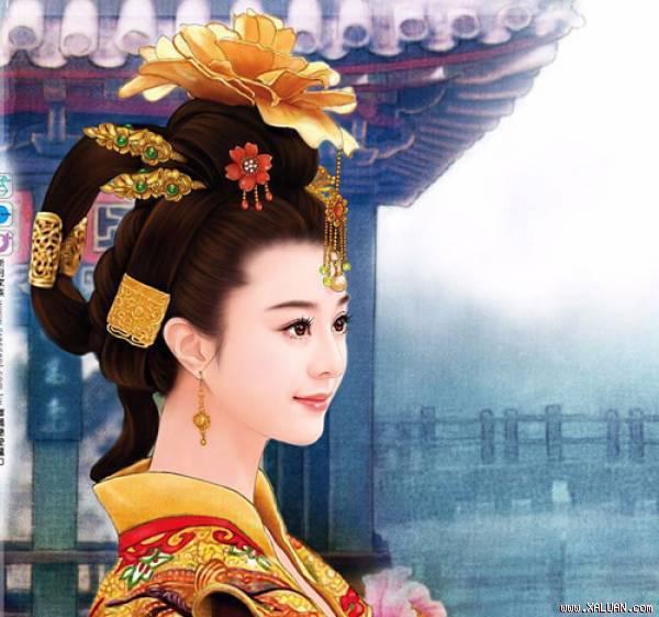 """Người ta thường nhắc đến Dương Quý Phi là """"một trong tứ đại mỹ nhân"""" Trung Hoa"""