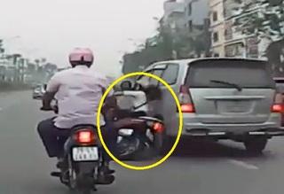 Cục C46 Bộ Công an lên tiếng về vụ lái xe Innova tông ngã cô gái rồi bỏ chạy
