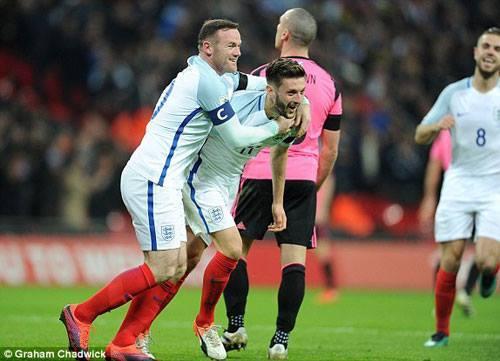 ĐT Anh giành chiến thắng dễ dàng trước Scotland.