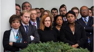 Thực hư bức ảnh nhân viên Nhà Trắng