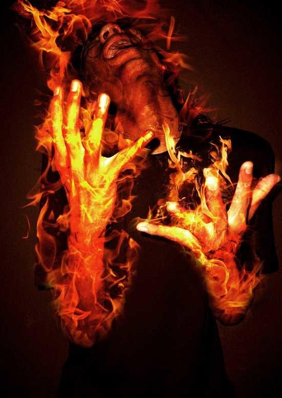 người tự bốc cháy 1