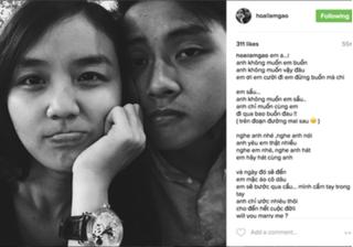 Hoài Lâm làm thơ cầu hôn cháu gái nghệ sĩ Bảo Quốc