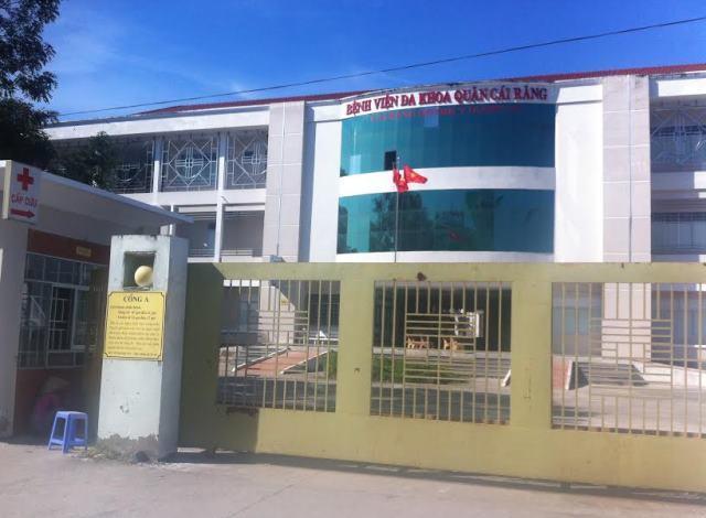 Bệnh viện Đa khoa Cái Răng, nơi xảy ra vụ việc tự cắt chân trái của mình