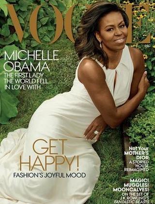 Bà Obama lần cuối lên bìa tạp chí trên cương vị đệ nhất phu nhân Mỹ