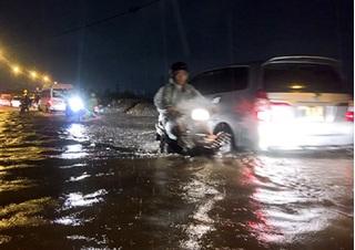 TP.HCM: Nhiều tuyến đường lại sắp bị ngập dù không mưa
