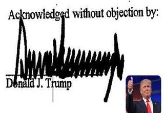 Nhìn thấu con người Tổng thống đắc cử Mỹ Donald Trump qua chữ ký