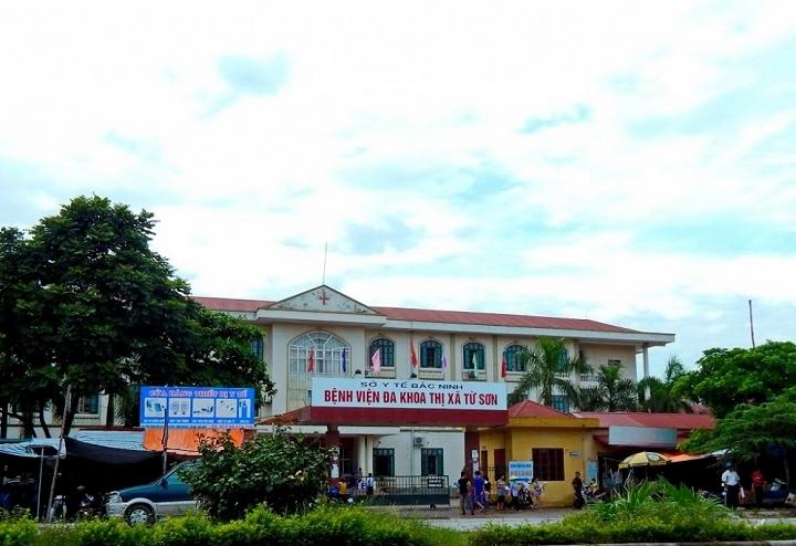 BVĐK thị xã Từ Sơn, nơi xảy ra vụ việc sản phụ bị cắt tử cung, bé sơ sinh tử vong