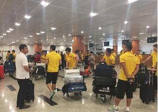 ĐT Việt Nam đã hạ cánh ở Myanmar, sẵn sàng cho AFF Cup
