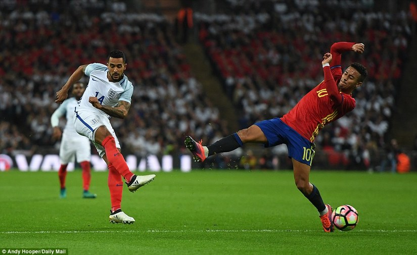 ĐT Anh và TBN bị TBN cầm hòa trên SVĐ Wembley